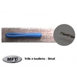 Vrille à bouillette - MFT ® - Bleue