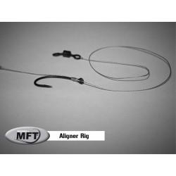 MFT ® - Aligner Rig - Bas de ligne monté Pêche Carpe - Pack x 2 montages
