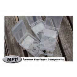 MFT ® - Anneaux élastiques transparents