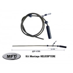 MFT ® - Pack x 3 Montages HELICOPTERE