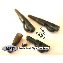 MFT ® - Pack x 5 Montages Feeder Lead Clip
