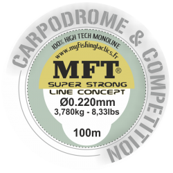 Nylon Special Carpodrome - MFT ® - Corps de ligne 100m